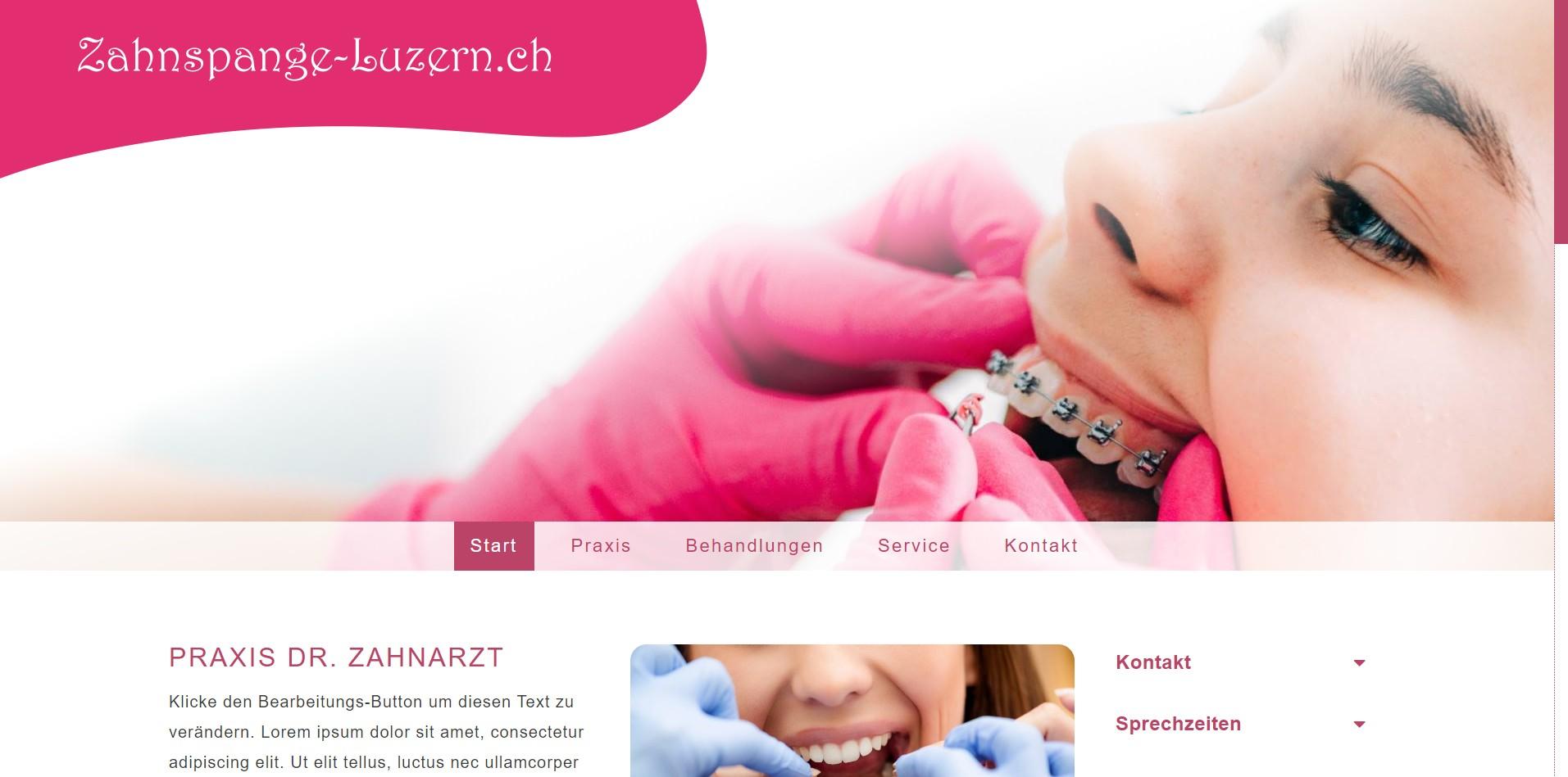 Zahnspange-Luzern.ch