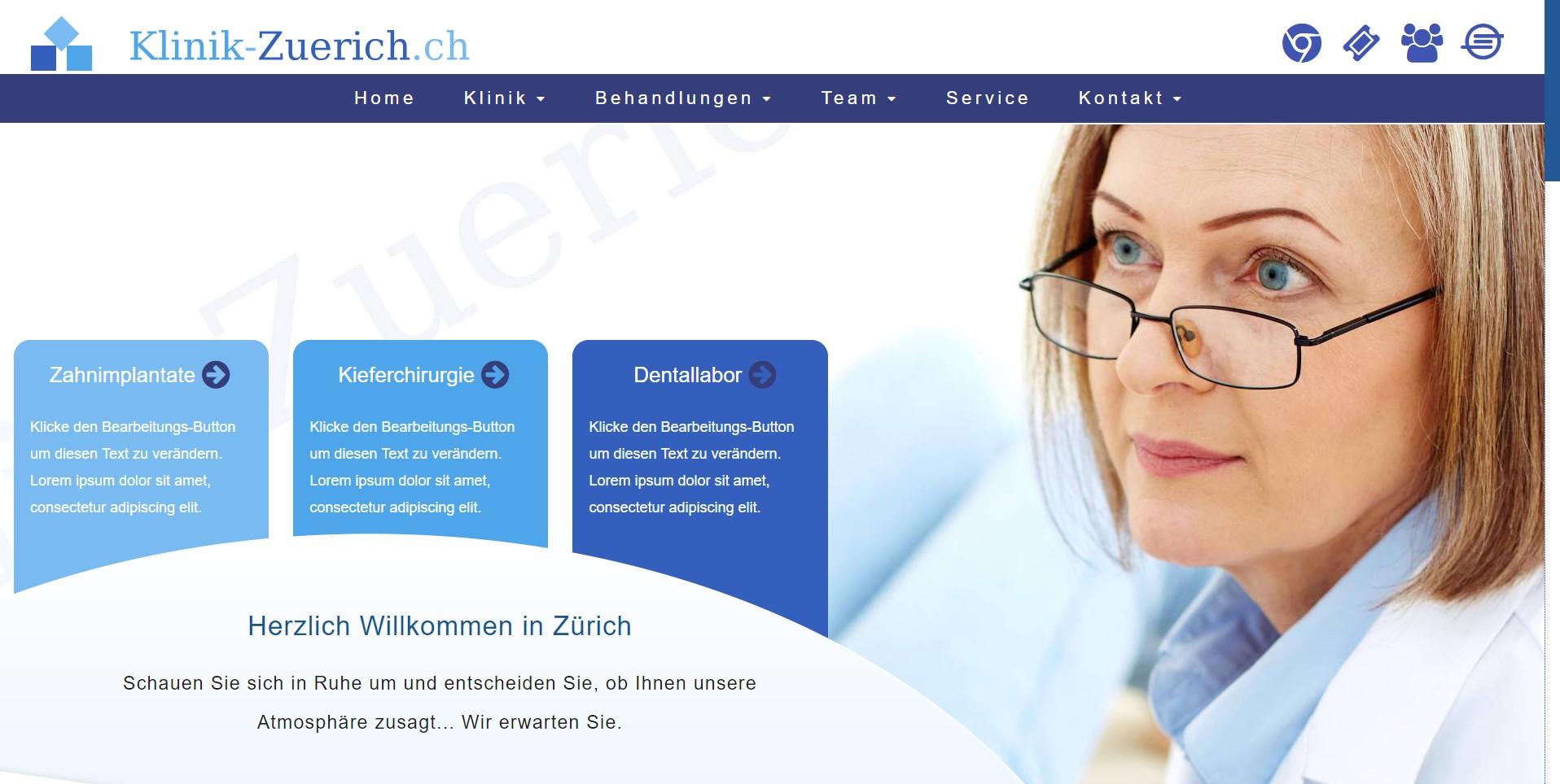 Klinik-Zuerich.ch