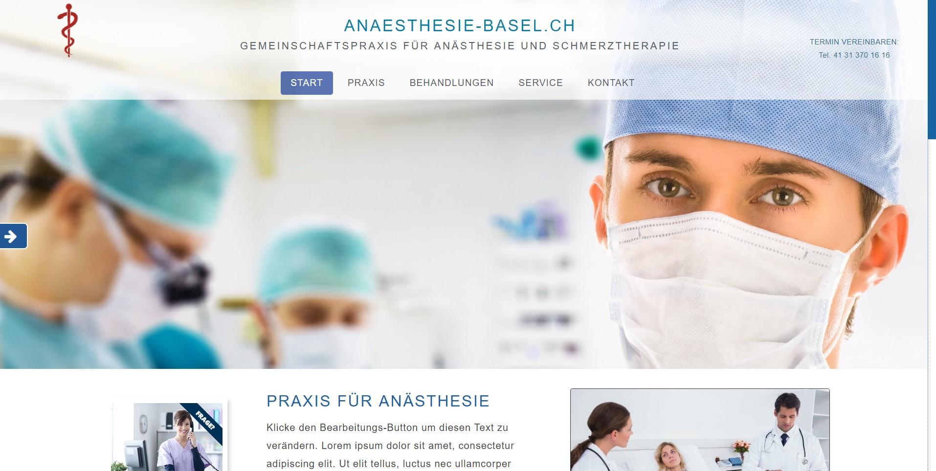 Anaesthesie-Basel.ch