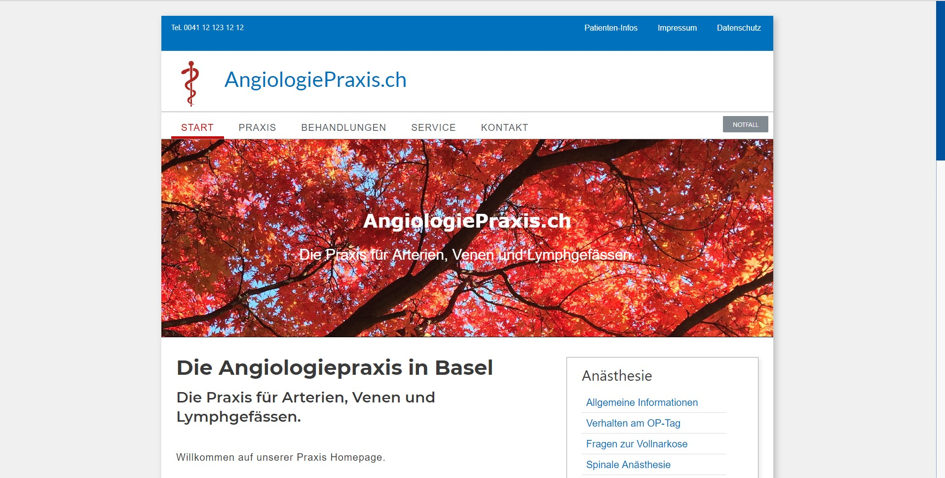 AngiologiePraxis.ch